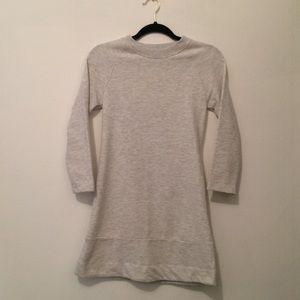 Zara | gray sweater dress